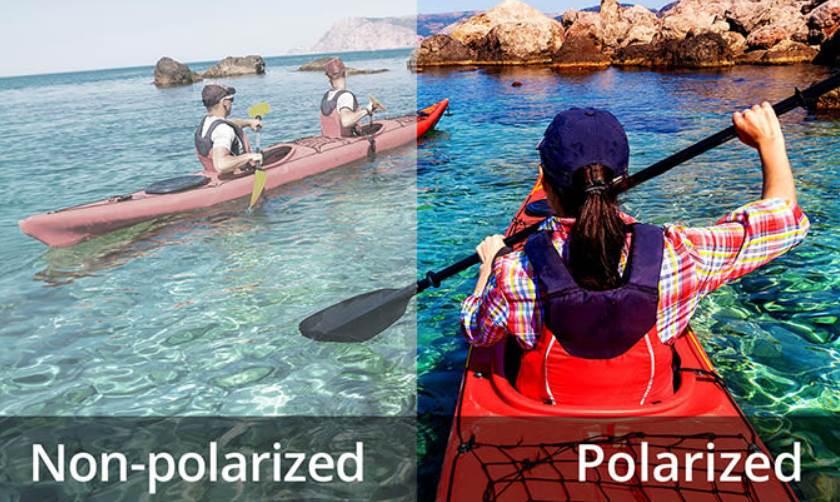 Image of Polarized VS Non Polarized Sunglasses