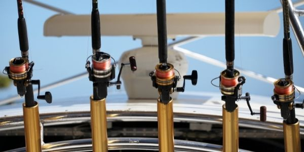 Image of fishing rods