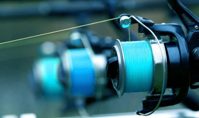 Image of three Fishing reel