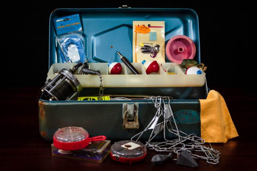 image of fishing Tackle box