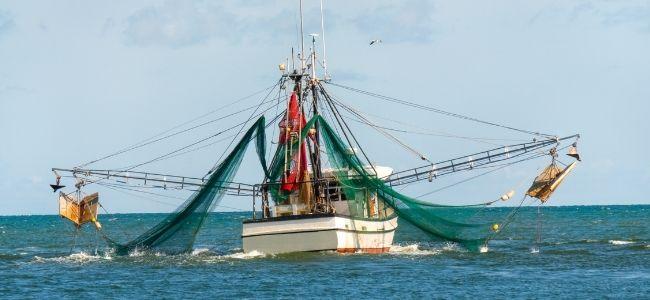 image of a big fishing boat