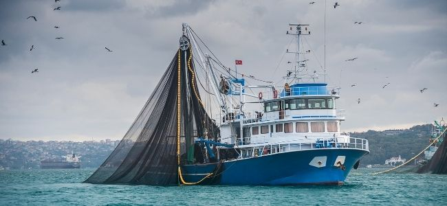 image of a big turkish fishing boat
