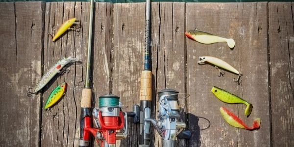 image of two fishing rods