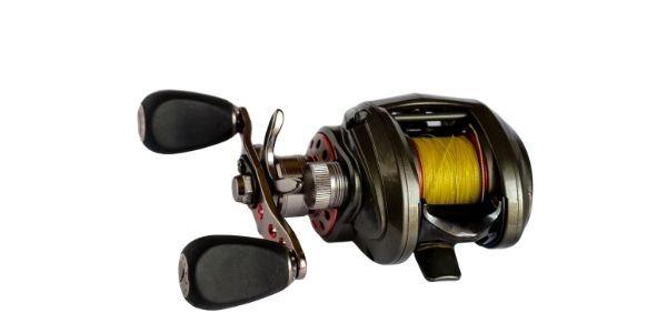 Image of a baitcasting reel