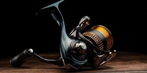 Image of the fishing reel