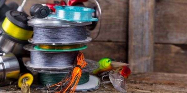 image of multiple fishing reels