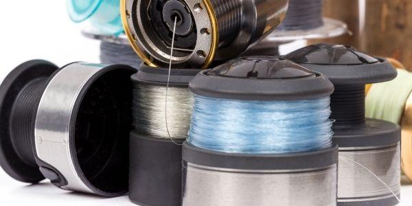 image of multiple fishing spools